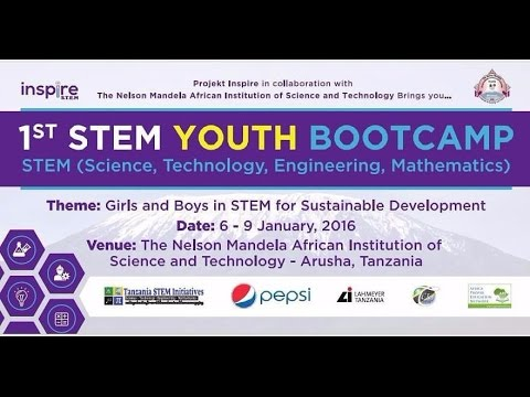 1st STEM BOOT CAMP VIDEO 6th to 9th Jan 2016