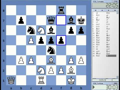 Gashimov Memorial Round 10 Recap with Magnus Carlsen vs Fabiano Caruana Queens Pawn Opening