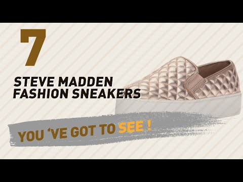 Steve Madden Fashion Sneakers // The Most Popular 2017