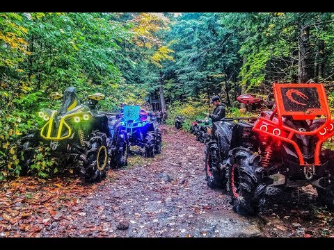 Off Road, Off Trail.  What's all the Hype? (Can Am Renegades, Suzuki King Quad)