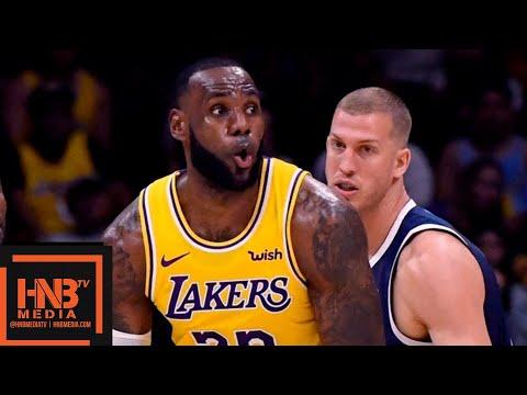 Los Angeles Lakers vs Denver Nuggets Full Game Highlights   30.09.2018, NBA Preseason