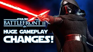 Star Wars Battlefront 2 - NEW GAMEPLAY CHANGES to Galactic Assault Maps and More!