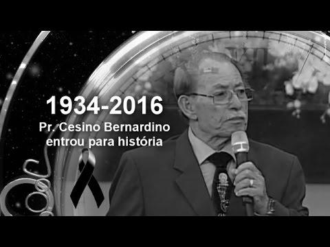 Morte do Pr Cesino Bernardino Gideões  Locutor Eduardo Santos
