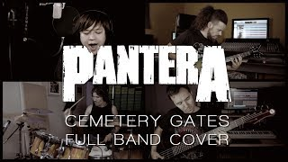 Pantera - Cemetery Gates (Full band cover)