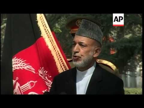Afghan President comments on security agreement with US