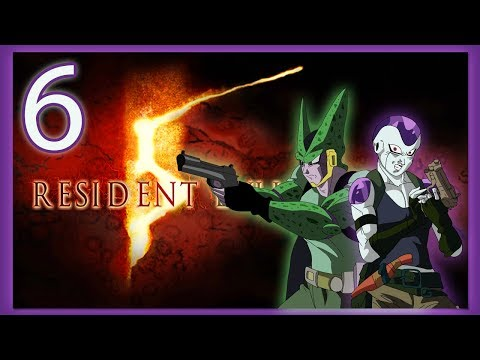 FRIEZA AND CELL PLAY RESIDENT EVIL 5! CELLS ORIGIN STORY!