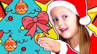 УКРАШАЕМ Новогоднюю Елку Готовимся в Новому Году и Рождеству Праздник Приближается Видео для детей