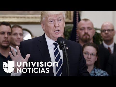 Donald Trump culpa al Subsecretario de Justicia por investigación sobre despido de James Comey