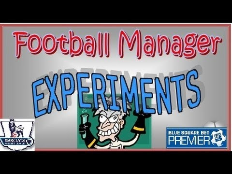 Football Manager Experiments: English Premiership swapped with Blue Square Premier