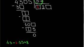 Деление в столбик на двузначные числа B1 1