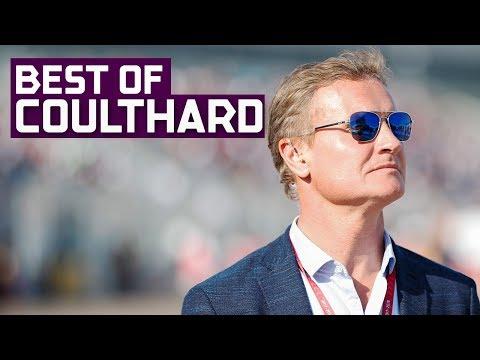 David Coulthard Commentating On Formula E  2018 BMW i Berlin E-Prix