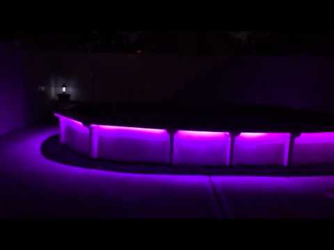 Led Strip Lights Around Swimming Pool Youtube
