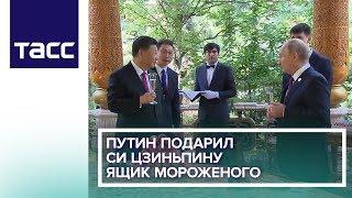 Путин подарил Си Цзиньпину ящик мороженого