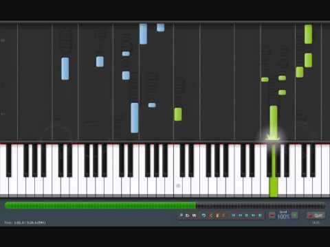 "EVERYBODY'S FOOL - Evanescence [piano tutorial by ""genper2009""]"
