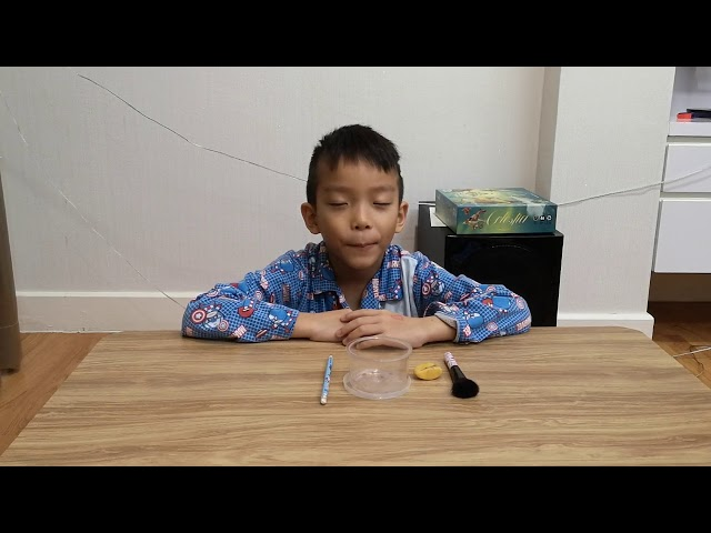 Tonboon ep.19Pencil sharpener / Hold / Blade / Put the pencil in / How to sharpen the pencil / Brus
