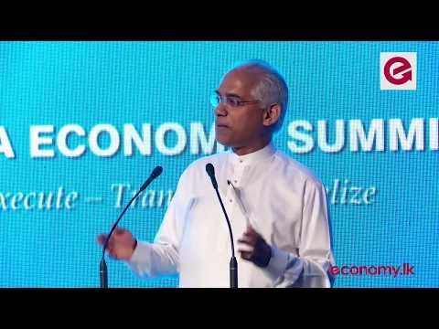Hon Eran Wickramaratne's Full Speech at Sri Lanka Economic Summit 2017