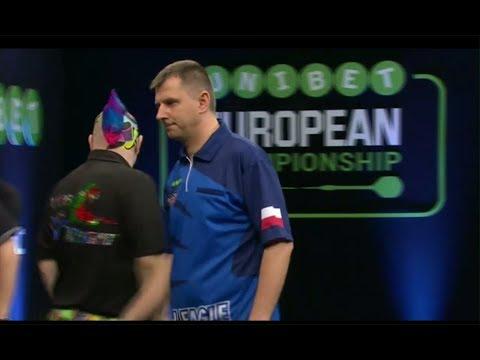 European Championship 2017 Peter Wright - Krzysztof Ratajski [1 runda] //DartTown.pl