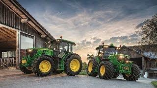 NOWOŚCI John Deere 2014, Zielona wiosna z 6110MC, 6090RC/ PUH Agrotechnika