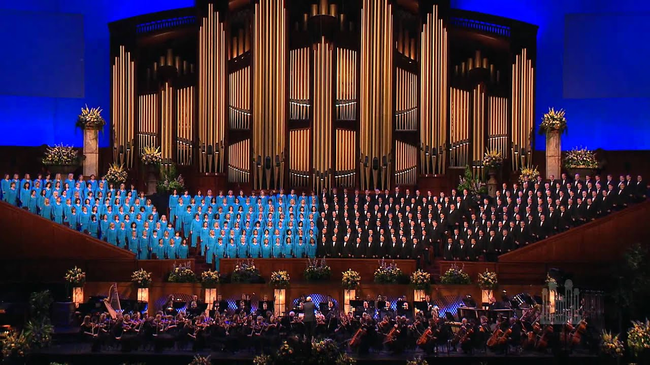 The Mormon Tabernacle Choir Sings Consider The Lilies Youtube