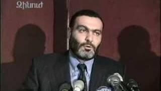 Vazgen Sargsyan - interview (January, 1998) - part2