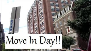 College Series: MOVE IN DAY!