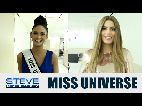 Do Miss Universe and Miss Colombia forgive Steve?    STEVE HARVEY