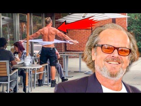Jack Nicholson Anger Management Prank