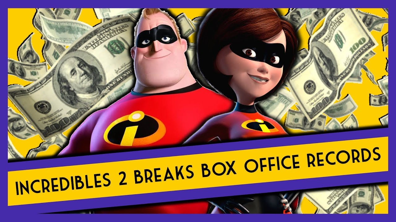 Incredibles 2 Pulls in a Heroic $180 Million, Giving It the Biggest Animated Debut of All Time