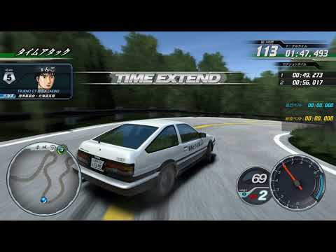 Initial D ARCADE STAGE 8 remake in Unity with sim-arcade