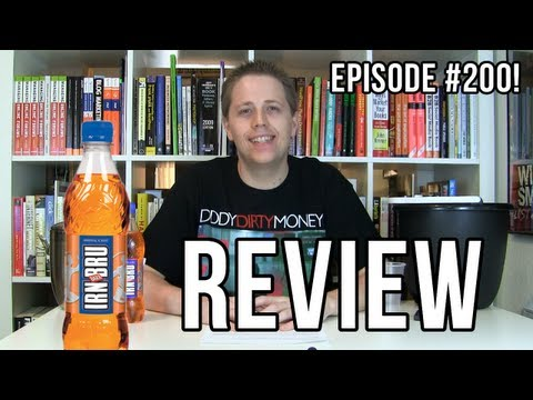 Irn-Bru Review (Soda Tasting #200)