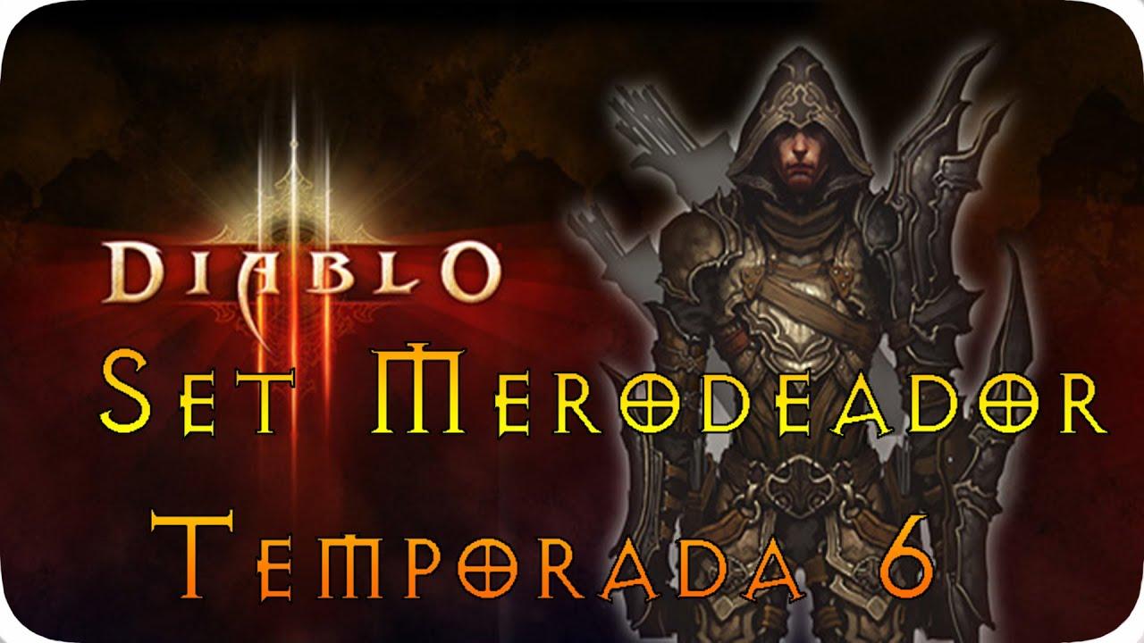 Diablo lll - Guia Cazador de demonios |  Merodeador temporada 6