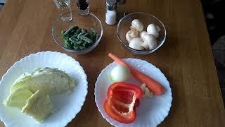 Борщ вегетарианский / ПП рецепты