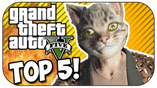 Top 5 WTF MOMENTS In GTA 5! (Episode #14)