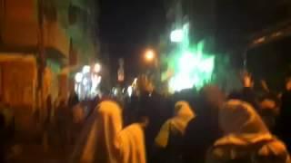 24 2 2015 مسيرة الثوار بالمحلة الكبرى ضد الانقلاب العسكرى