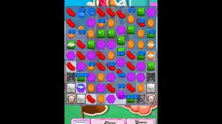Candy Crush Saga level 276 gameplay with 3 stars
