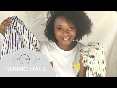 Fabric Haul- SUPER CHEAP FABRICS!!