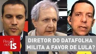 Debate: Diretor do Datafolha milita a favor de Lula?
