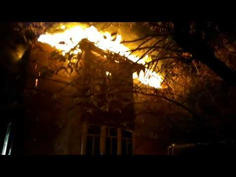 Пожар на ул. Свободы в Иванове