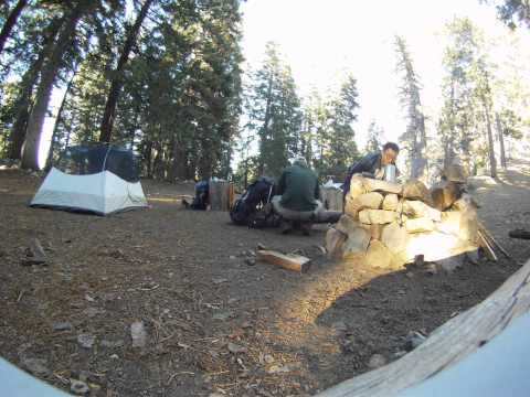 Little Jimmy Campground - Angeles National Forest - TimeLapse