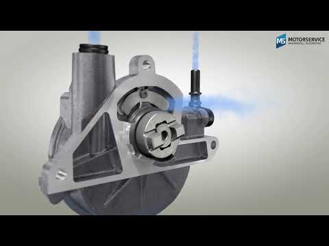 Как действует вакуумный насос? (3D анимация) - Motorservice Group