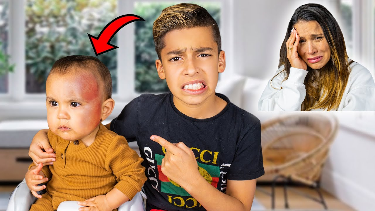 Download i DROPPED My BABY BROTHER!! I'M SORRY MOM... | The Royalty Family