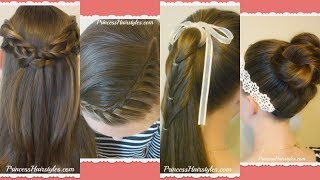 4 Cute Hairstyles For School, Quick and Heatless, Part 4