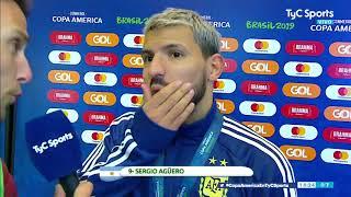 Agüero y la avivada con Messi: