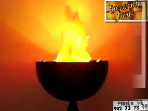 Lampara Imitación Mesa Grande De Fuego 3clKTF1J