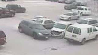 World's worst driver:Old man crashes into 9 cars; Woman parks in handicapped spot   Compilation