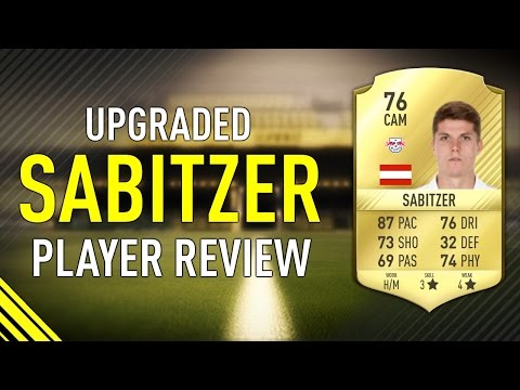 FIFA 17 UPGRADED SABITZER (76) PLAYER REVIEW