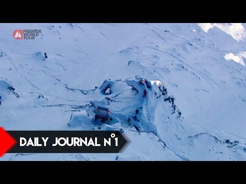 Daily Journal n°1 - FWT18 Xtreme Verbier Switzerland