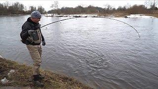 Рыбалка. Ловля БОЛЬШОЙ РЫБЫ на спиннинг!