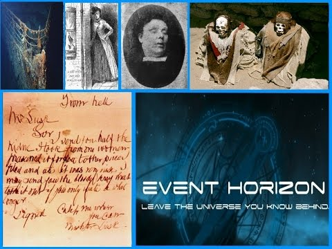 CONTACT with JACK THE RIPPER, Mary Kelly & TITANIC'S DEAD ~Event Horizon~ TPCN