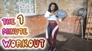 THE 1 MINUTE WORKOUT | Scola Dondo